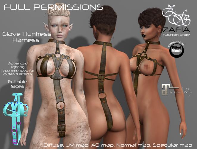 slave-huntress-harness-maitreya-png