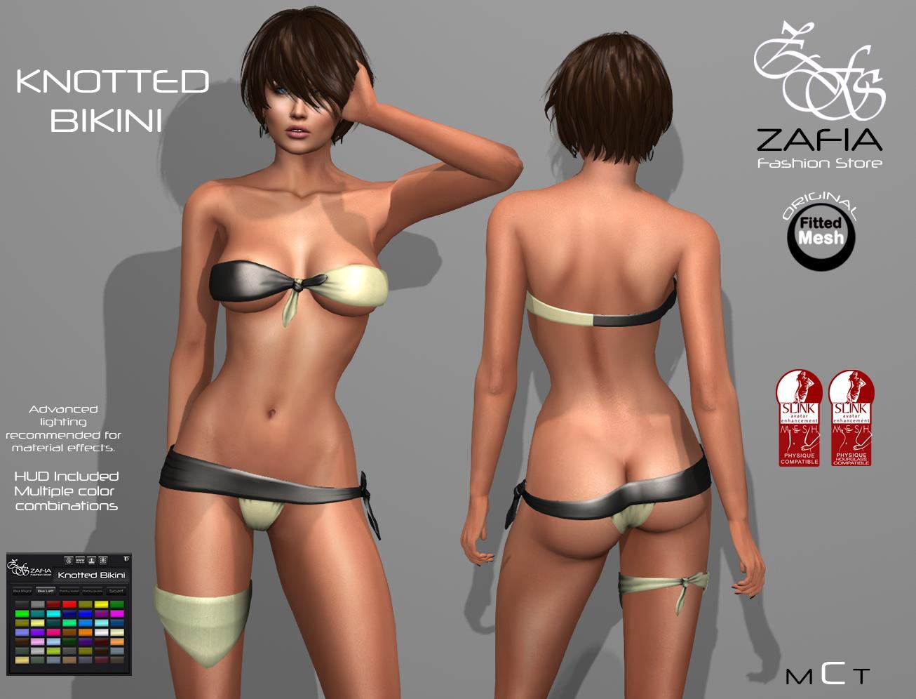 Knotted Bikini Slink