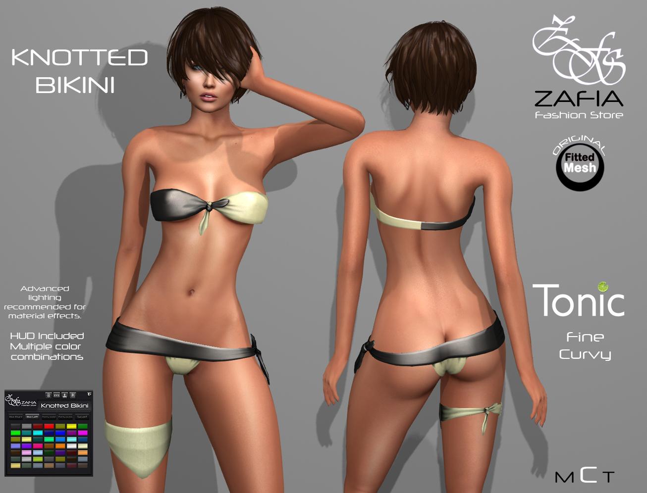 Knotted Bikini Tonic