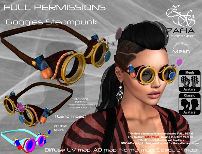 Goggles Steampunk