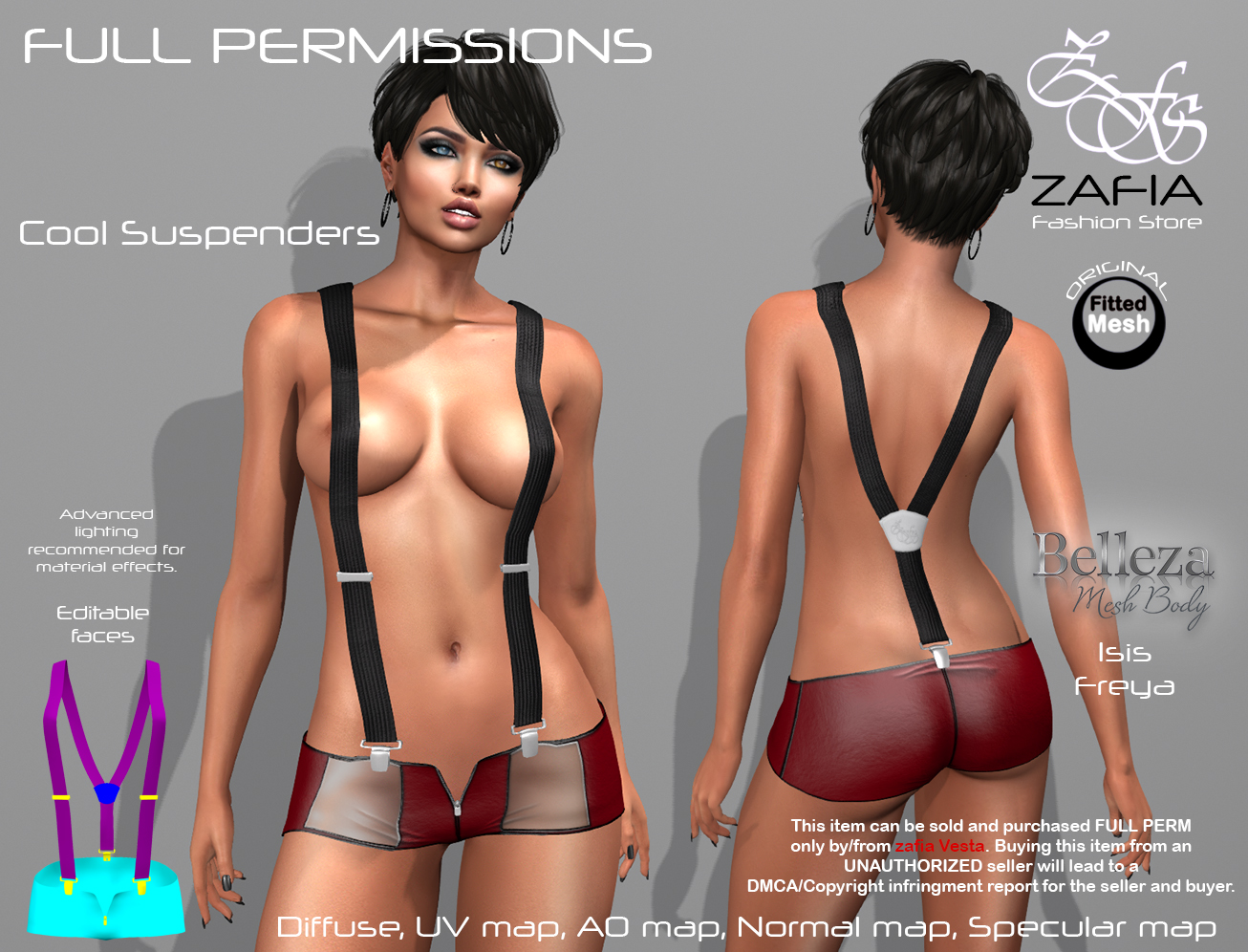 Cool Suspenders Belleza