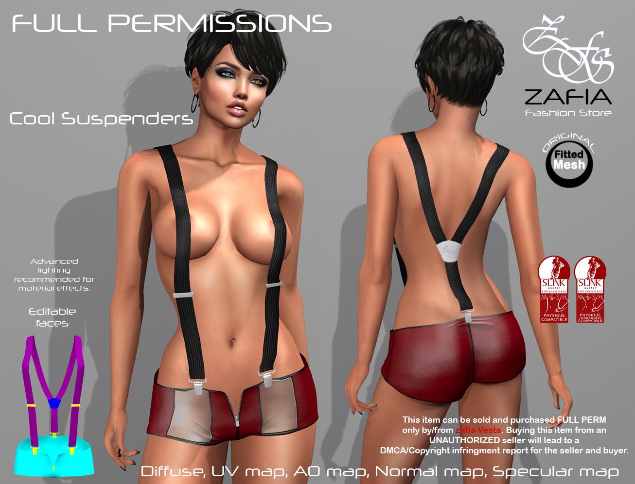 Cool Suspenders Slink 2
