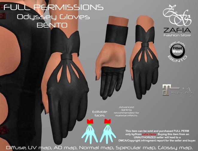 Odyssey Gloves Maitreya