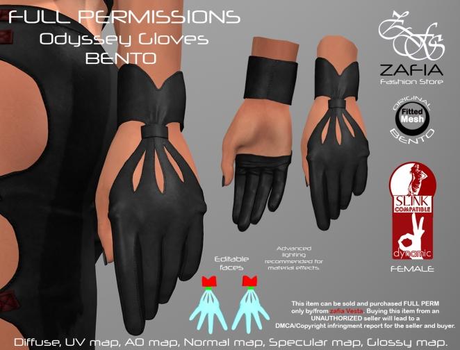 Odyssey Gloves Slink
