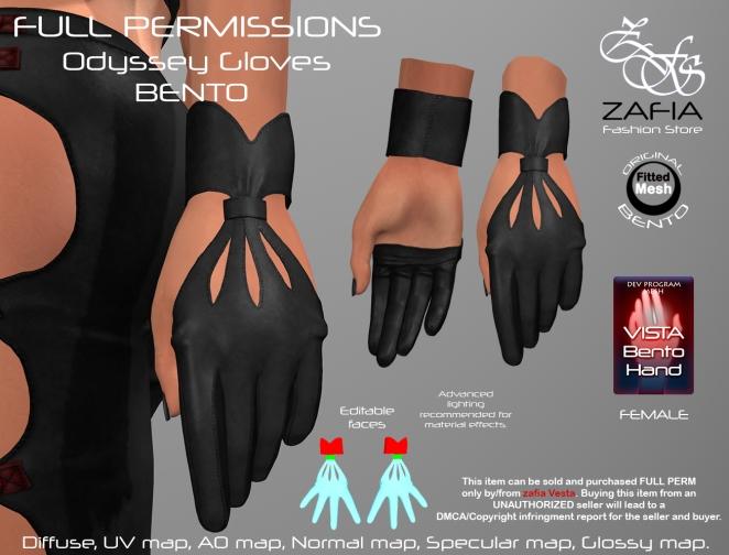 Odyssey Gloves Vista