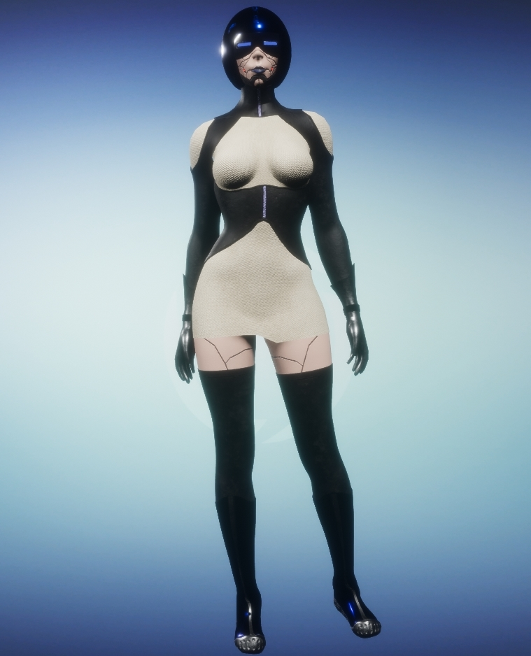 Ritako Cyborg Avatar Market