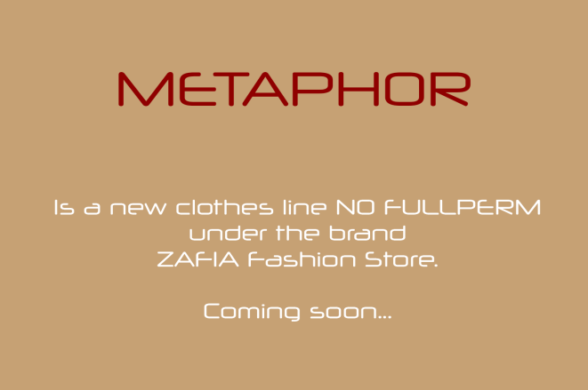 METAPHOR Line. – ZAFIA Fashion Store