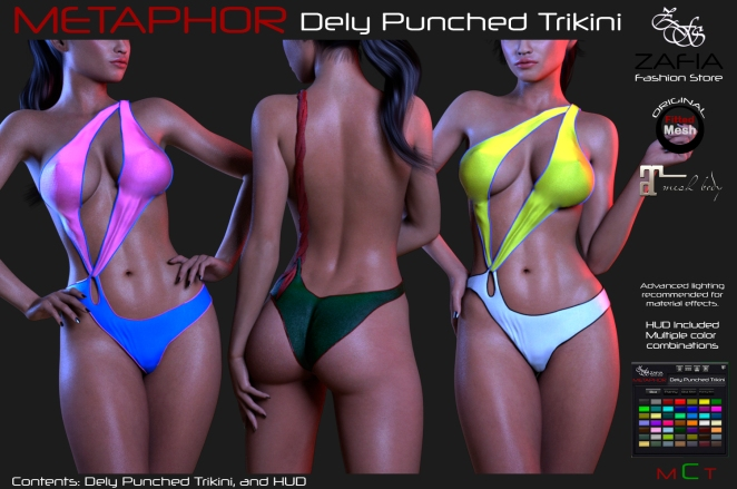 Dely Punched Trikini D3