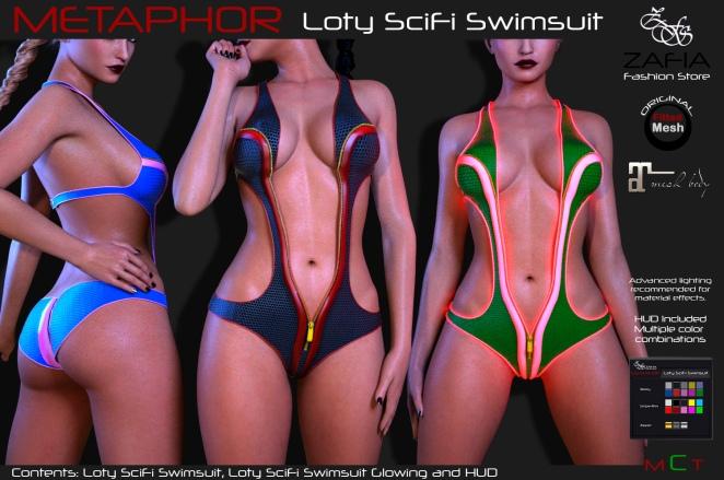 Loty SciFi Swimsuit Maitreya D3